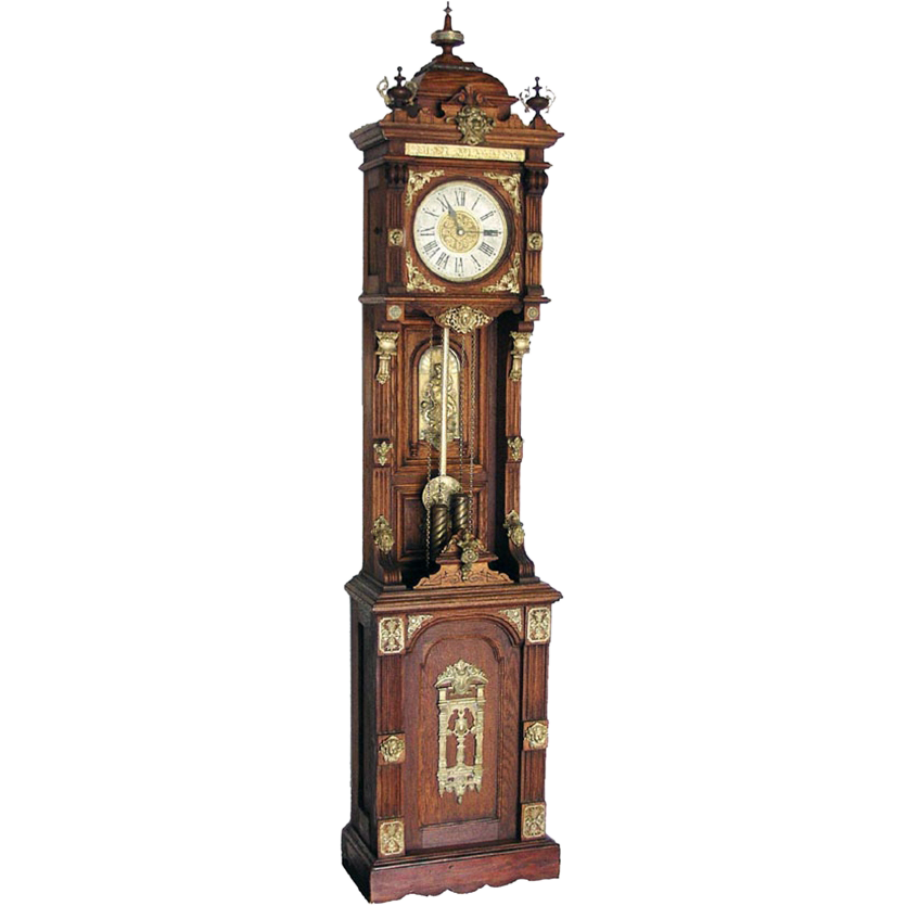 "7564 Original Ansonia Clock Company ""Antique Standing"" Floor Clock"