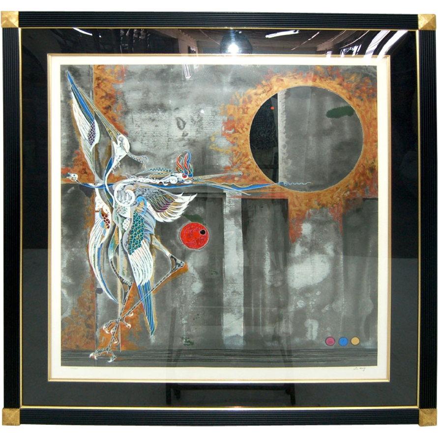 "7587 ""Eclipse"" by Lu Hong - Limited Edition Print"