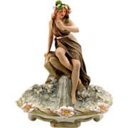 7595 Royal Dux Ceramic Figurine
