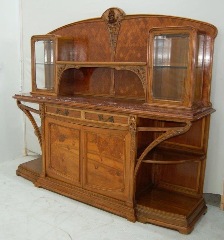 7694 french art nouveau louis majorelle signed 11 piece - Art nouveau mobili ...