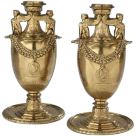 7818 Pair of French Garniture
