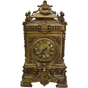 7821 Bronze Bracket Clock
