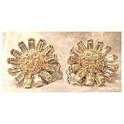 Elegant Petite Clear Rhinestone Earrings