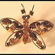 Regency Butterfly Pin