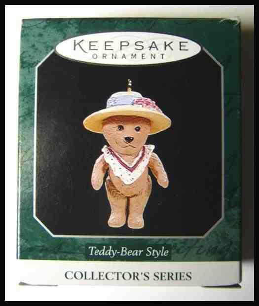Hallmark Collector's Series Teddy-Bear Style 1998