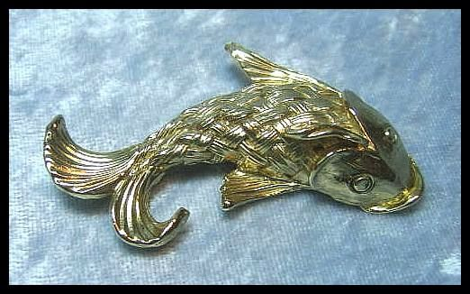 Fanciful Fish Pin by Napier