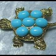 Truly Terrific Turtle Pin