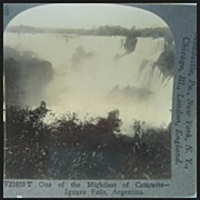 Iguazu Falls, Argentina - Keystone Stereo View