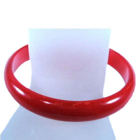 Cherry Red Bakelite Bracelet