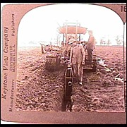 Keystone Stereo View - Farming in Wisconsin