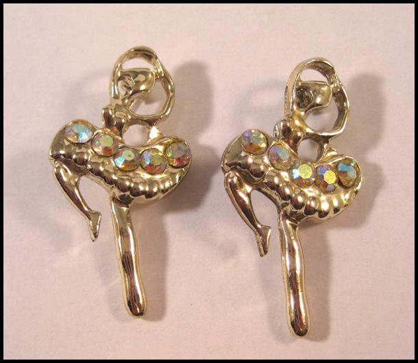 Two Lovely Ballerina Pins