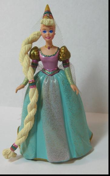 Hallmark Barbie As Rapunzel Ornament Antique Ables