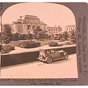United States NAVAL ACADEMY, Annapolis, MD -  Keystone Stereo View