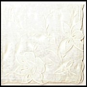 Oversized Bride's Hankie