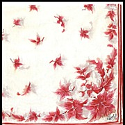 Burmel Hankie with Copper Colored Leaves