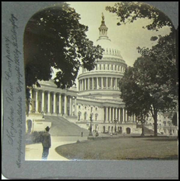 The Capitol, Washington D.C. - Keystone Stereo View
