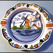 Delft Polychrome Ashtray