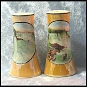 Niagara Falls Luster Shakers - Made in Czechoslovakia