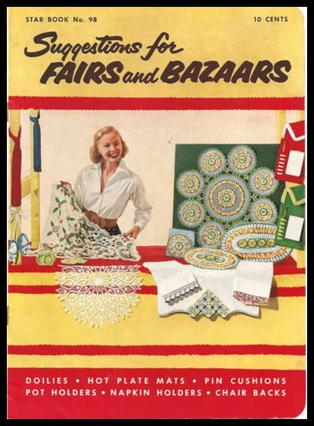 Crochet Booklet: Suggestions for Fairs and Bazaars