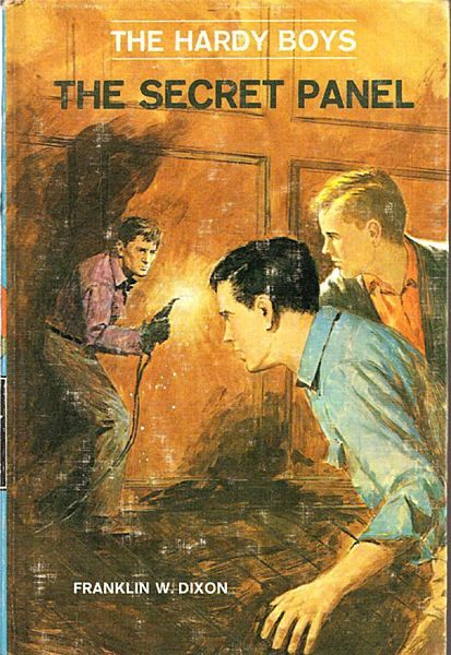 The Secret Panel - The Hardy Boys Book