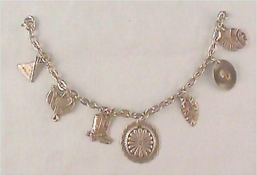 Western Style Charm Bracelet