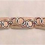 Unique Crown Trifari Silver Bracelet with Rings