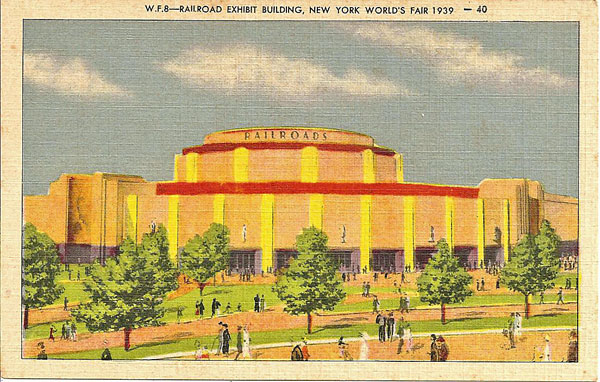 Postcard from New York World's Fair of 1939