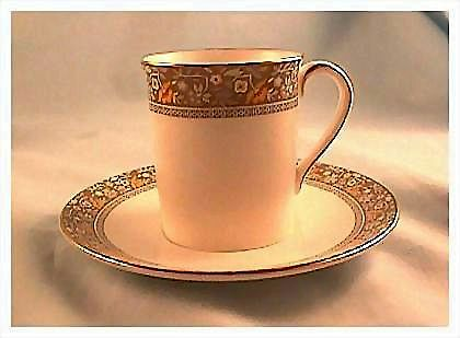 Royal Doulton Maplewood Demitasse Cup and Saucer