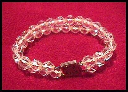 Two Strand Crystal Bracelet