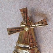 Windmill Pin Signed Coro Pegasus