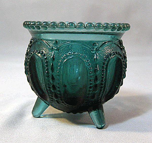 Degenhart Gypsy Pot Toothpick Holder Periwinkle