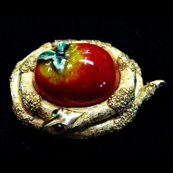 Garden of Eden Serpent & Apple Solid Perfume