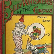 Billy Whiskers at the Circus Story by F. G. Wheeler Children's Book