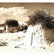 Real Photo Postcard of White Sands National Monument in New Mexico
