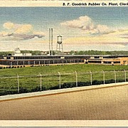Postcard Depicting the B. G. Goodrich Rubber Co. Plant, Clarksville, Tenn.