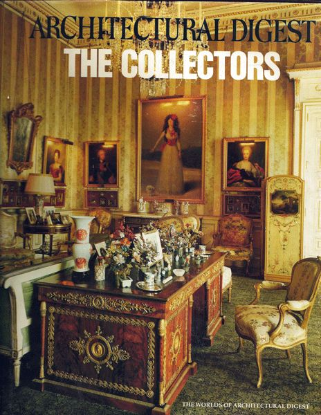 Architectural Digest Book The Collectors