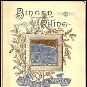 Rare Vintage Book - Bingen On The Rhine