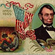 Abraham Lincoln Commemorative Postcard