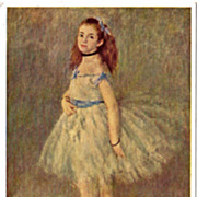 Postcard of The Dancer by Renoir - Red Tag Sale Item