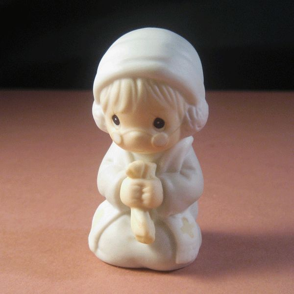 Precious Moments Grandfather Preacher Figurine