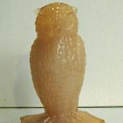 Crown Tuscan Degenhart Owl Figurine
