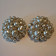 Gorgeous Coppola e Toppo Baroque Pearl Earrings