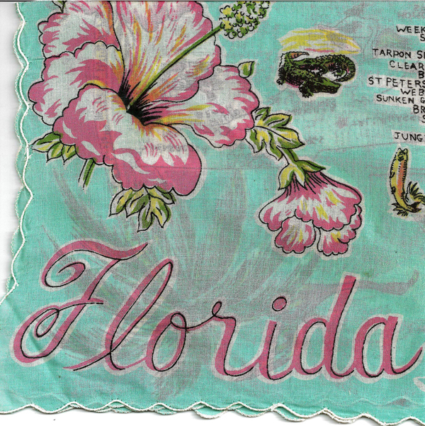 Florida State Handkerchief All Cotton