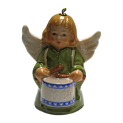 Goebel Angel Bell Ornament Dated 1984