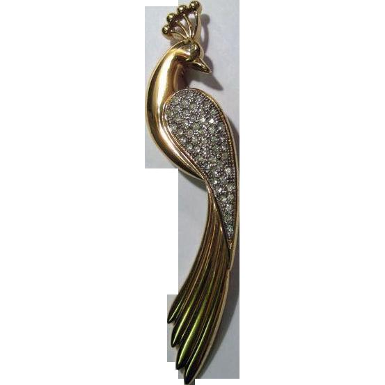 Austria Bird Pin Elegant