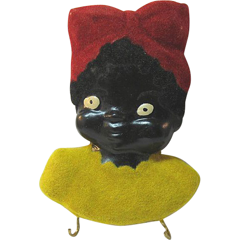 Black Americana Mammy Potholder Plaque