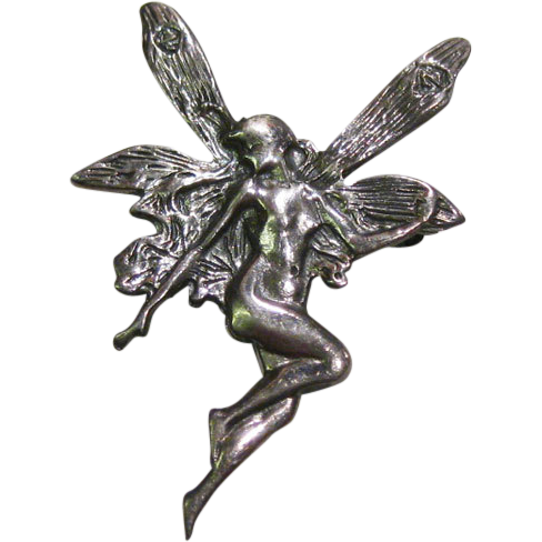 Fairy Pin Sterling Silver