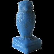 Degenhart Delft Blue Owl Figurine