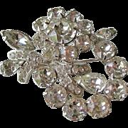 Eisenberg Rhinestone Pin Splendid