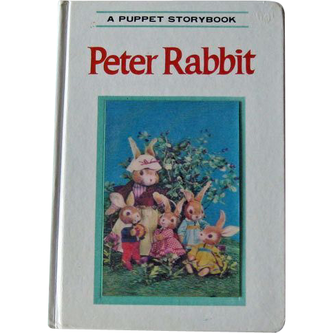 Puppet Storybook Peter Rabbit